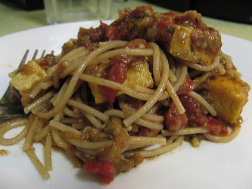 spaghetti-eggplant-cherrytomatoes