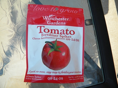 Winchester Gardens Tomato Fertilizer Spikes Review