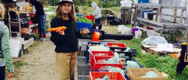 farmer with carrot