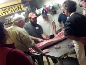 hog butchering