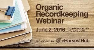 organic recordkeeping