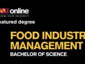 online program in food industry management