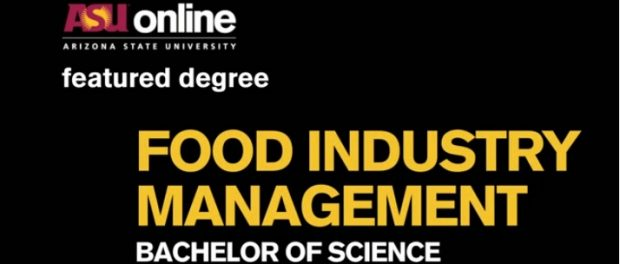 online program in food industry management