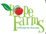 Hope Farms veteran farmer training program