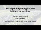 Michigan Beginning Farmer Initiatives