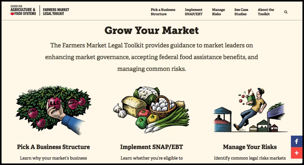 farmers market legal toolkit